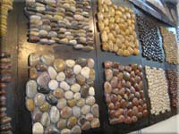 Pebble Stone Mosaic Tiles