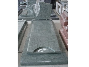 Green Granite Funeral Monument