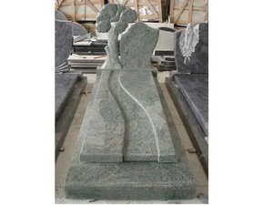 Green Granite Tombstones